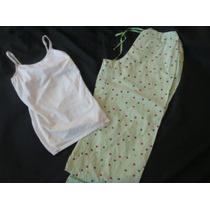 Secrets Wear It Declare It Set Pijama Capri Polka Dots S