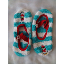 Nick & Nora Pantuflas Zapatos De Dormir Tejidos Unitalla