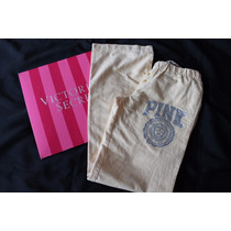 Pink Victoria Secret Pantalon Pijama Pareo Talla Chica