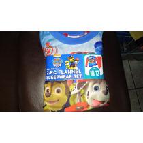 Pijama Infantil Importada Para Niño De Paw Patrol