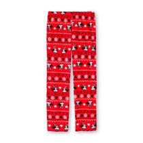 Disney Pijama Pantalon Minnie Mouse Rojo Talla S Polar