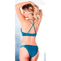 Coordinado Vicky Form Bra Y Bikini Jade De Tiras Sexy 2832