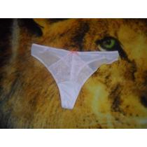 Pantaleta,bikini, Tanga Transparente Brillosa Satinada