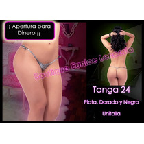 Set De 6 ¡¡¡ Sexy Mini Tanga Con Liguero Integrado Vmj