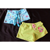 Sweet No Boundaries Lote D 2 Boxers Pijama Talla Chica