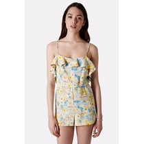 The Top Shop Ruffle Romper Talla 10