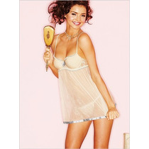 Victorias Secret The Bridal Push Up Bra Baby Doll Novia 36b
