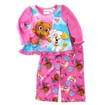 Pijama Blusa Pantalón Bubble Guppies Niña T4 Envio Gratis