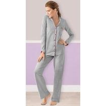 Ilusion Pijama Mod 3747 Pantalon Y Playera Manga Larga
