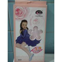 Mallas Para Niña Delgadas Rosa Claro Super Lindas Sp0