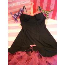 Victorias Secret The Very Sexy Push Up Bra Dress Sz 34b