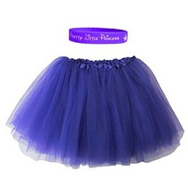 Fluffy 3 Capa Ballet Tutu Con Nuestra Pretty Little Princess