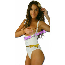 Faja Body Siluette Bikini Senos Libres Tirante Ajustable