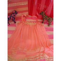 Victorias Secret The Pink Mesh Tunic Baby Doll Sz L