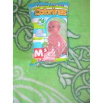 5 Paquetes:pañales Para Bebe Talla 3 Mediano De 6 A 10 Kg.