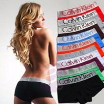 Lote 10 Calvin Klein Ck Dama Boxer Bikinis Varios Colores