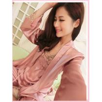 Pijama Estilo Coreano 3 Piezas Talla Extra Chica Ropa Dormir