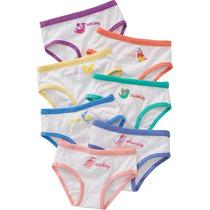 Old Navy Panties De Niña 7 Piezas Pajaros De 2-3 Años