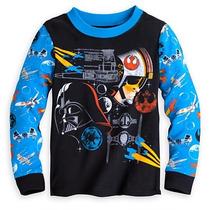 Pijama Niño Darth Vader Star Wars Nueva Disney Talla 5