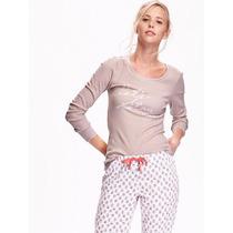 Conjunto De Pijama Para Dama Old Navy Nuevo Con Etiquetas