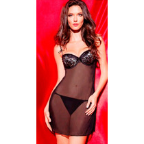 Baby Doll Vicky Form 9262 Vestido Copa Animal Print Push Up