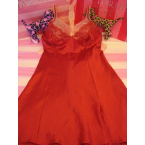Victorias Secret The Holiday Luxury Satin Baby Doll Sz Xs