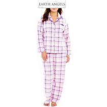 Conjunto 2xl Earth A Pijama Set Rosa Blusa Pantalon Xxl Dama