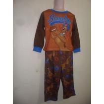 Pijama Playera Y Pantalón Scooby Doo Niño Talla 3