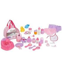 Usted Y Yo: Baby Doll Care Set - Accesorios En Bolsa