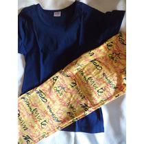 Pijama De Mujer Bonito Diseño Talla M