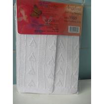 Mallas Caladas Para Niña Delgadas Blancas Talla 4/5 Año Op4
