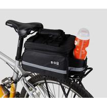 Mochila Alforjas Plegable Bici Compatible Cualquier Parrilla
