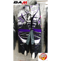 Pantalon Cross Cuatrimoto Proteccion Answer Size 34 Morado