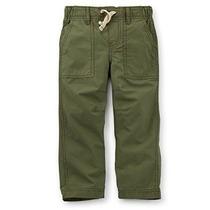 Niño / Niños Pequeños Tejido Ripstop Pantalones De Carter