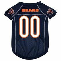 Camisa Para Perro Hunter Mfg Chicago Bears Jersey Dog Peque