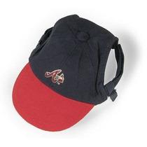 Sombrero Para Perro Cap - Bravos De Atlanta L