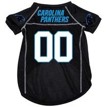 Camisa Para Perro Panteras De Carolina Nfl Mesh Pet Jersey