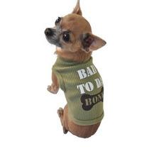 Camisa Para Perro Camisetas Sin Mangas, Bad Da Hueso