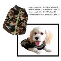 Abrigo Para Perro Zip-up Sudadera Perro Ropa - Varios Color