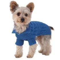 Suéter Para Perro Stinky G Royal Blue Dog Aran Suéter S