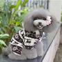 Ropa Para Perro Mascota Gato Pequeño Pijama Calientito