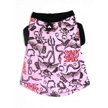 Sudadera Para Perro Hip Perrito Saints And Sinners Rosa Tér