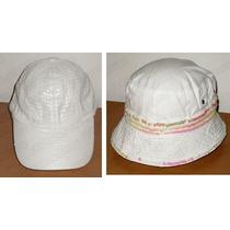 Kit Deportivo * Gorra Y Sombrero Dama Diseño Italiano /usado
