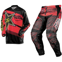 Traje Motocross Rockstar Metal Mulisha L-34 Enduroatv Rzr