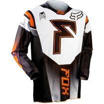 Jersey Fox 360 Franchise Naranja Talla M Motocross Downhill