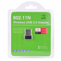 Tarjeta Red Inalambrica Con Antena Wifi Usb 300 Mts 150mbps