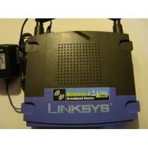 Router Linksys Wrt54g V6 Ddwrt Inalambrico Flaseado Maa