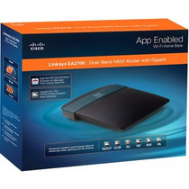 Router Linksys Inalambrico Dual Band N Gigabit Ea2700-negro