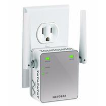 Amplificador De Rango Netgear N300 Wi-fi Pared - Blanco