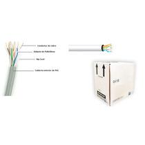Cable Utp Gris Categoria 5e/ Cca/ Bobina 305 Mts/ Redes/ Vid